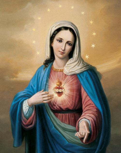 Il Cuore Immacolato di Maria (pensieri del sabato)